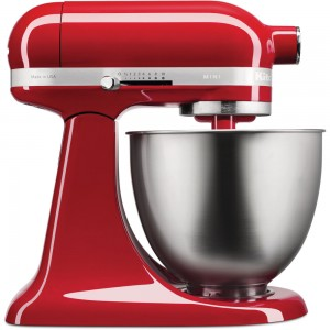 KitchenAid 3.3 L Küchenmaschine Empire Rot 5KSM3311XEER