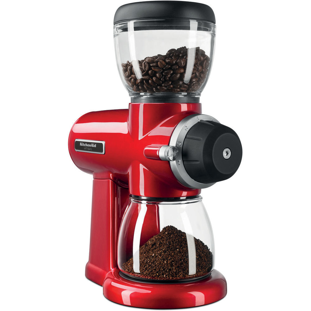 KitchenAid Artisan Kaffeemühle Empire Rot 5KCG0702EER | mp-kuechen.de