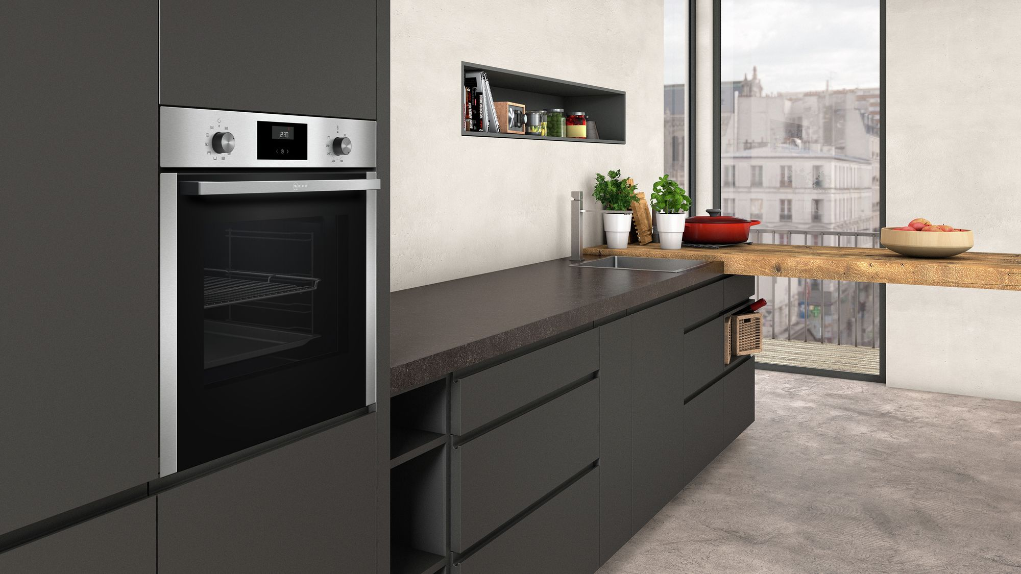 neff set bcc1622mk best aus backofen b1cce2an0 teleskopauszug z11tj25x0 mp. Black Bedroom Furniture Sets. Home Design Ideas
